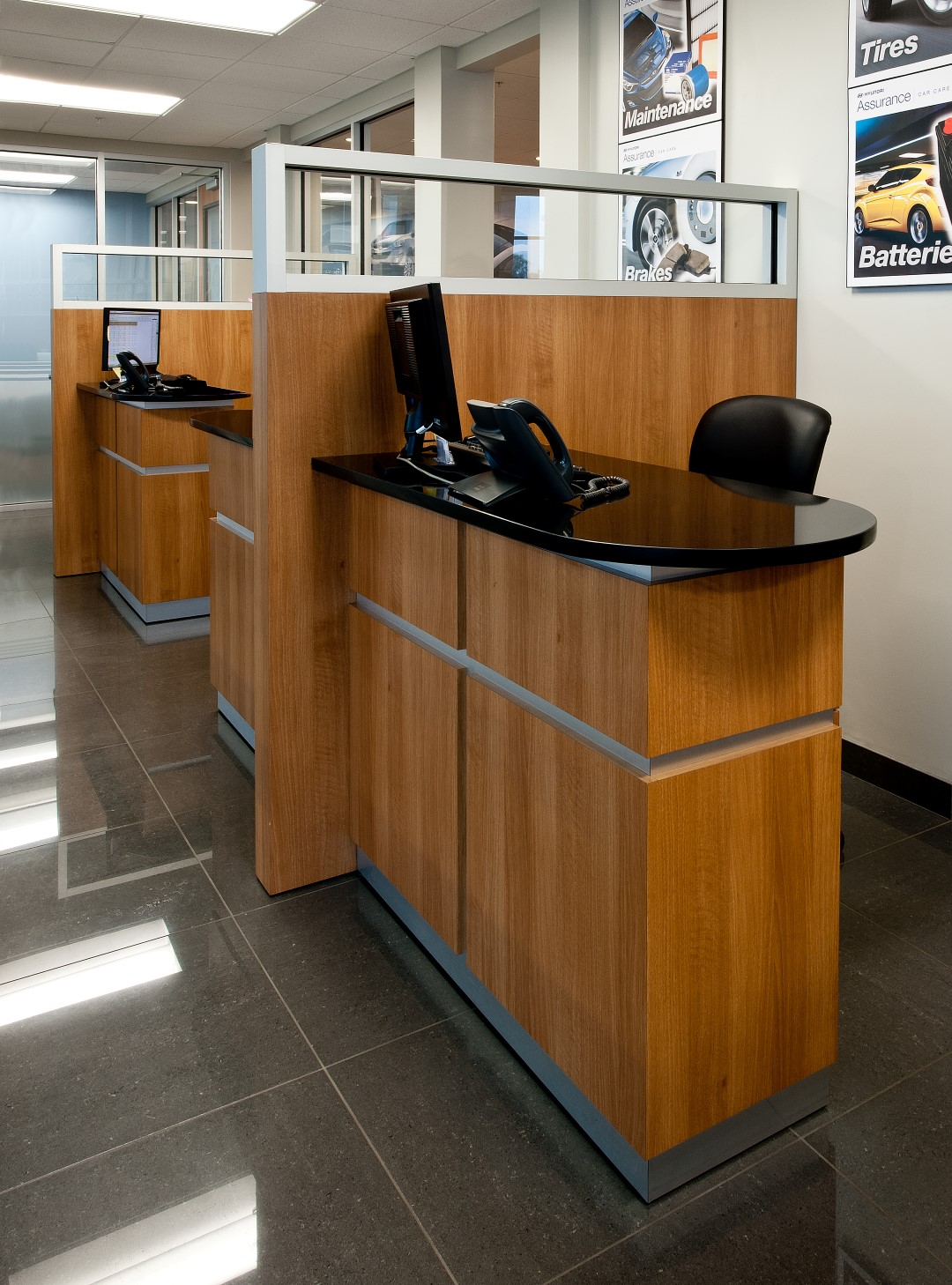 Attractive Lakeland Hyundai Service Advisor Desks Amazing Design